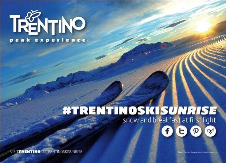 #trentinoskisunrise http://www.girovagandointrentino.it/trentinoskisunrise-sci-allalba-sulle-piu-belle-piste-del-trentino/