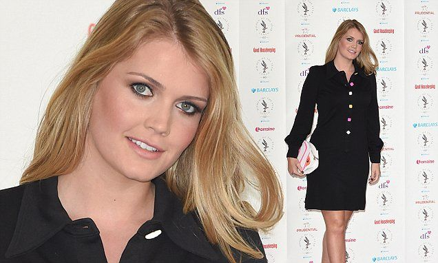 Lady Kitty Spencer shows off her tanned legs