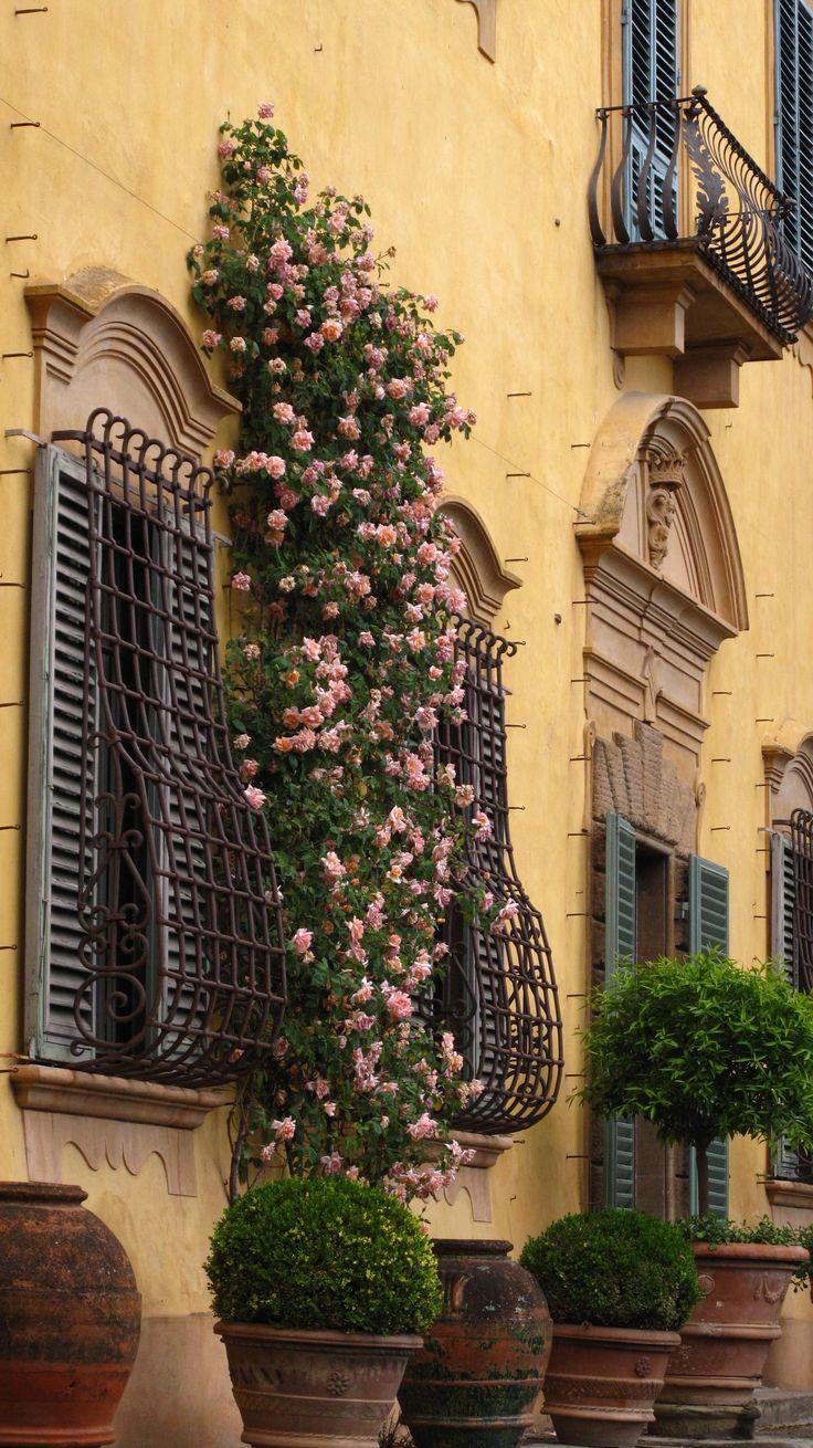 Garden of Villa La Pietra, Florence - Italy Tuscany