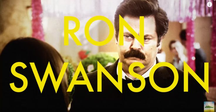 Here's the best of Ron Swanson, and it's incredible