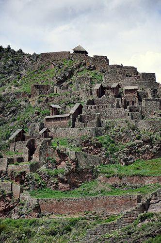 Qallaqasa Inka fortress ~ UNESCO World Heritage Site