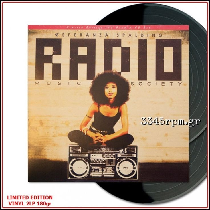 Esperanza Spalding - Radio Music Society - Vinyl 2LP 180gr