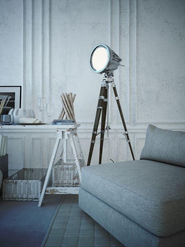 Scandinavian design by Alfonso Perez Alvarez, via Behance