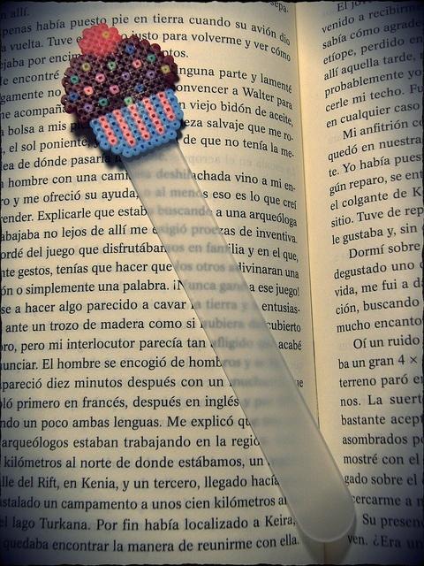 Marcapaginas personalizados by Chicle sin azucaR, via Flickr