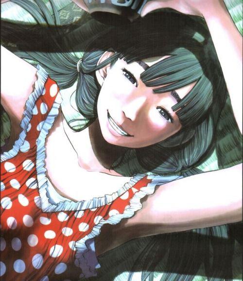 Aiko from Oyasumi Punpun (Inio Asano)