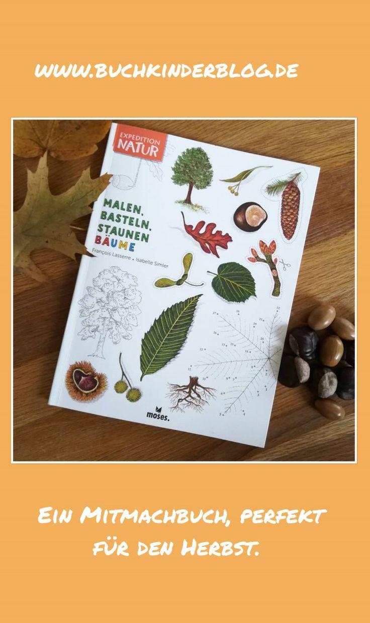 """ein mitmachbuch zum herbst  """"expedition natur malen"""