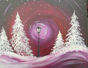 I feel Pretty confident I could paint this after last nights' Paint Nite. @angied600 @carmz79