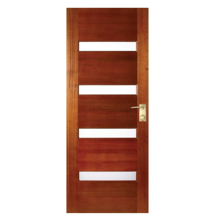 Hume 2040 X 820 X 40 Savoy Entrance Door With Frosted