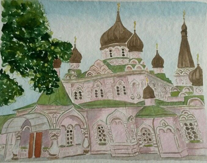 Покровский монастырь в Киеве