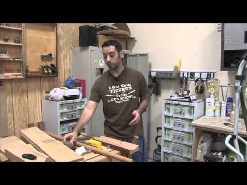 Coves (symmetrical and asymmetrical) on the Tablesaw & the Parallelogram Cove Jig - with the Wood Whisperer Marc Spagnuolo