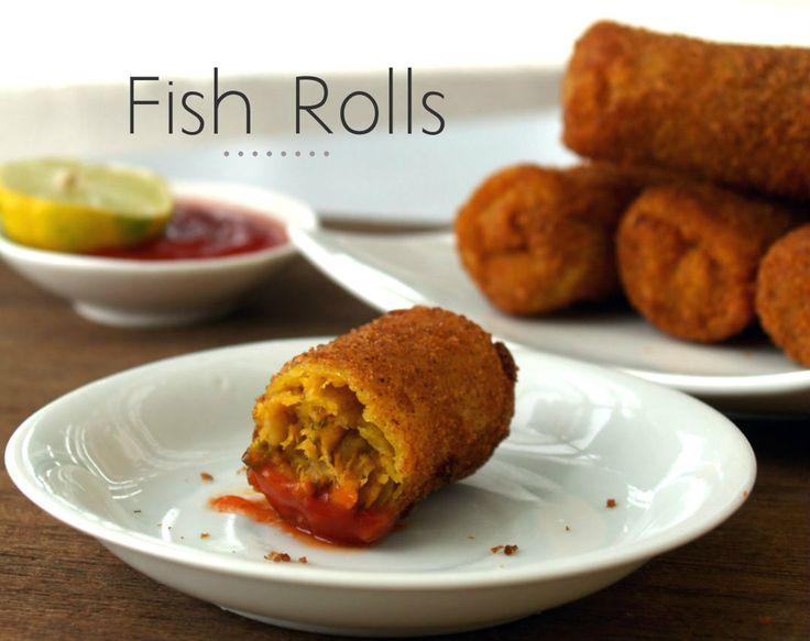 Fish Rolls - My SriLankan Recipes