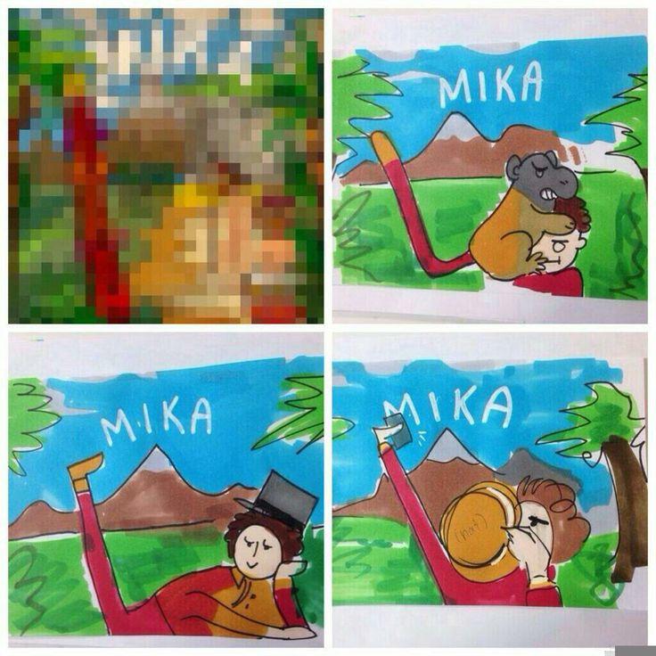 Let's imagine the Boum Boum Boum cover... Mika lol xD