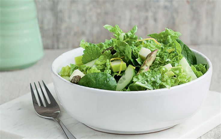 Grøn salat, der passer til alt