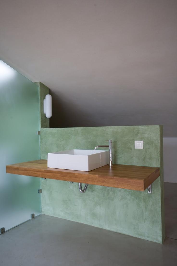 Beton - Badkamer beton wax ...