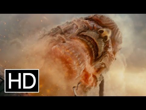 Watch the first official Attack on Titan movie trailer, with English subtitles. Coming to theaters in Singapore on 13 August.