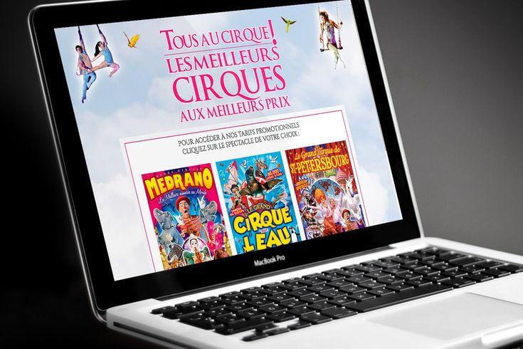 Création Site E-commerce Billetterie - Vente de billets spectacle
