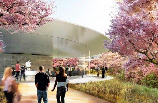 New Images of Apple's Solar-Powered Spaceship Headquarters Unveiled   Inhabitat - Sustainable Design Innovation, Eco Architecture.