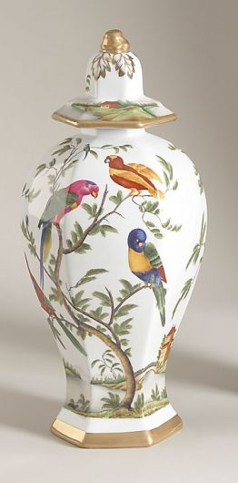 Decoupage Birds On Lamp Like This Chelsea House Home Page Porcelaine Chine Et Chinois