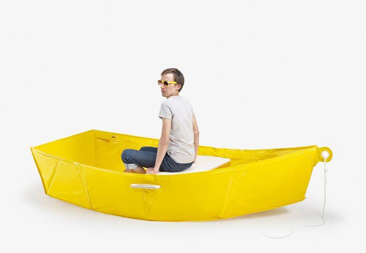 thibault penven: ar-vag folding boat: Folding Boat, Boat Barca, Penven Thibault, Portable Rowboat, Nice Products, Boats, Thibault Penven Ecal, Object