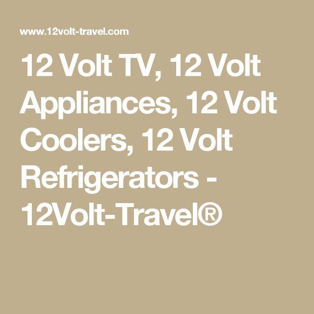 12 Volt TV, 12 Volt Appliances, 12 Volt Coolers, 12 Volt Refrigerators - 12Volt-Travel®