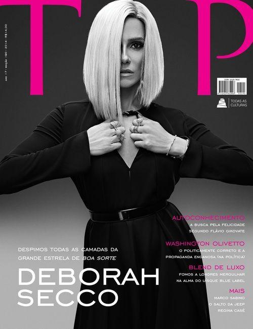 Deborah Secco na capa da Revista TOP Magazine.  #cover #magazine #revista #top #deborah #secco #capaderevista