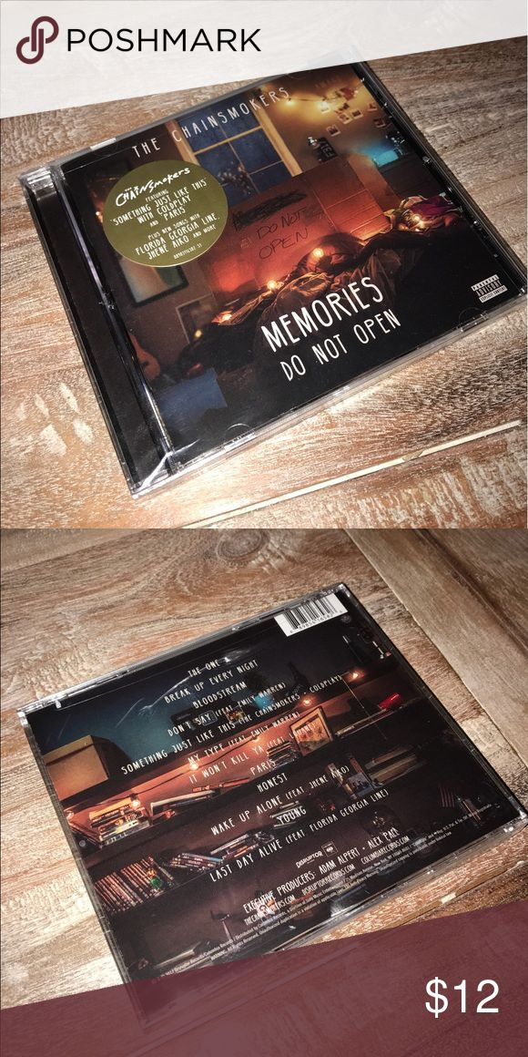 The Chainsmokers: Memories Do Not Open New album. Sealed. 100% authentic US version. Plastic case does have small crack. Other