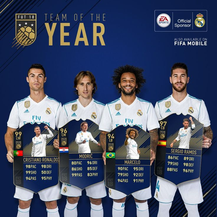 Team of the Year. #fifa