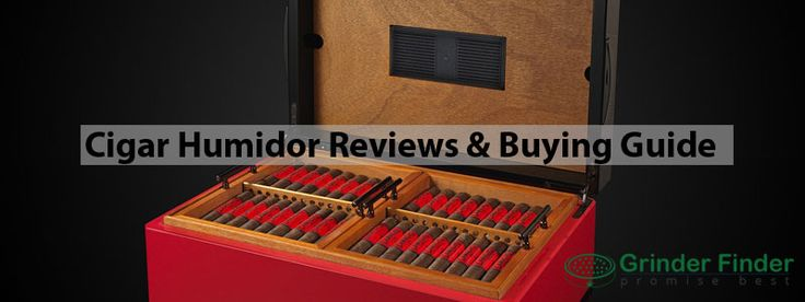 10 Best Cigar Humidor Reviews  – The Ultimate Buying Guide