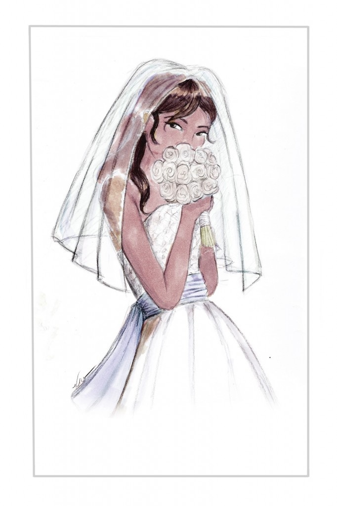 Blushing Bride by Veronica Marché