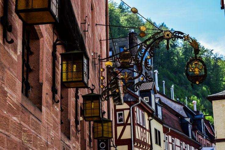 Miltenberg am Main - mittelalterliche Architektur  ... #miltenberg #architektur #main