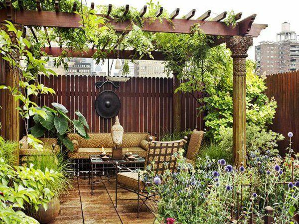 15 besten Garten Bilder auf Pinterest Gärten, Grillplatz und - uberdachter grillplatz im garten