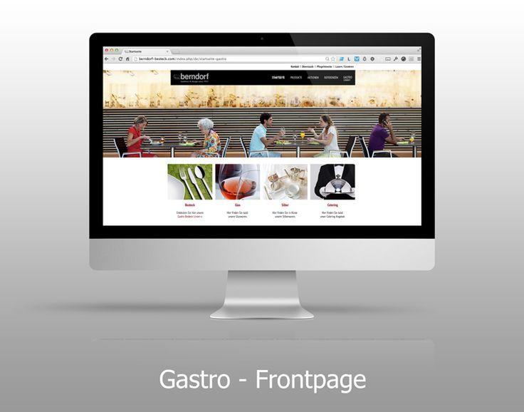 Homepage - Gastro