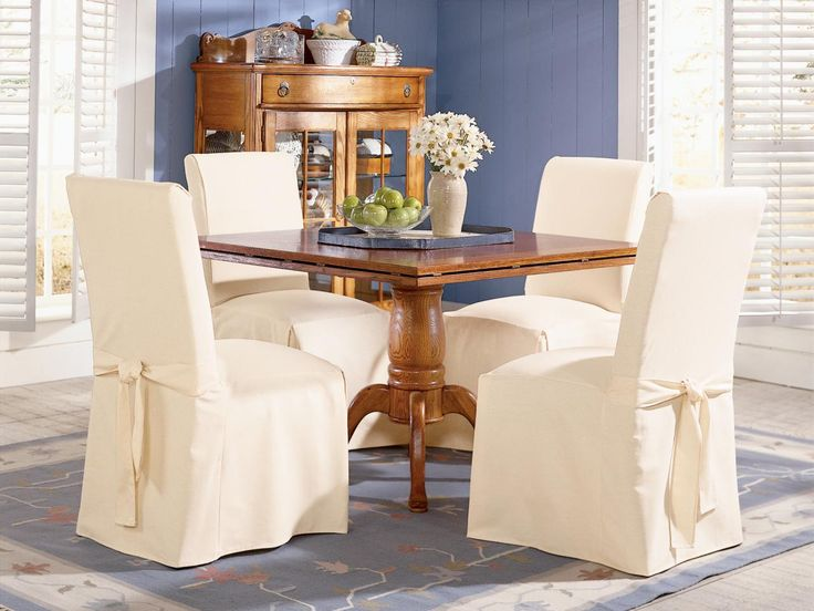 Dining Room Black Chair Slipcovers Square Glass Table With Modern Legs Gray