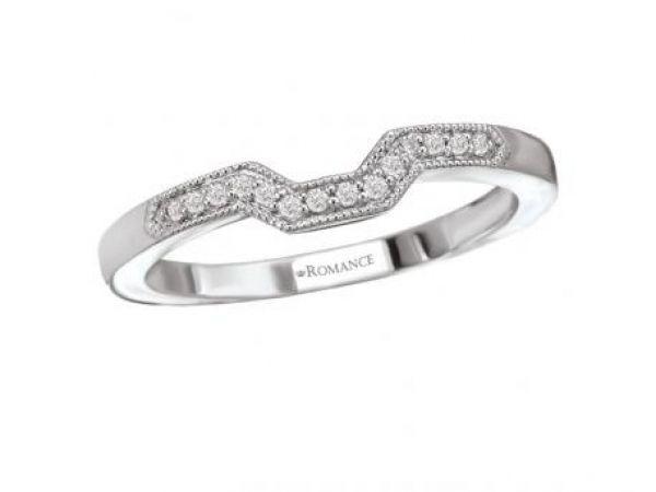 Wedding Band 92000 STYLE 001 110 00173 18K WG 007 Ctw SI1