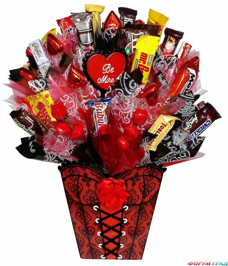 Букет из сладостей для любимой
