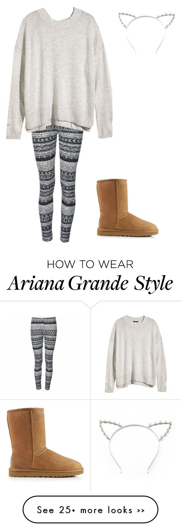 """""""Ariana Grande inspired casual winter outfit"""" by superfluffy23 on Polyvore"""