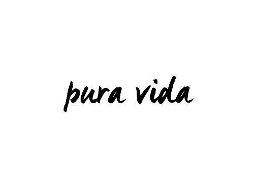 myTAT - Pura Vida Temporary Tattoo