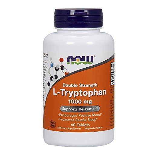 Now Foods L-tryptophan 1000mg, Tablets, 60-Count //Price: $19.1 & FREE Shipping //     #supplements
