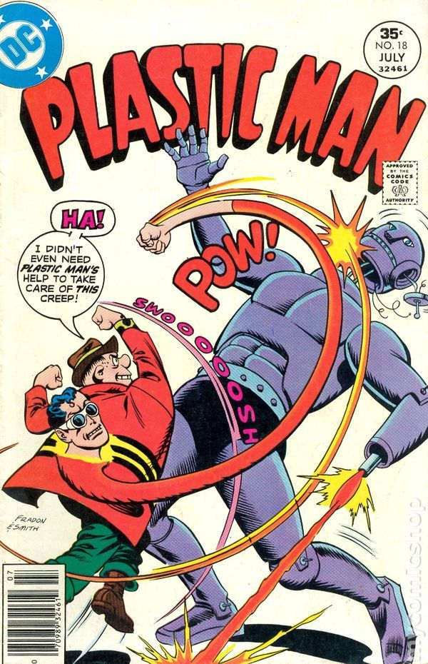 Plastic Man (1966 1st Series DC) 18