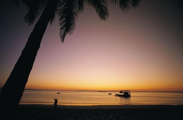 Sunset at Tangalooma Island, Australia.. I miss it
