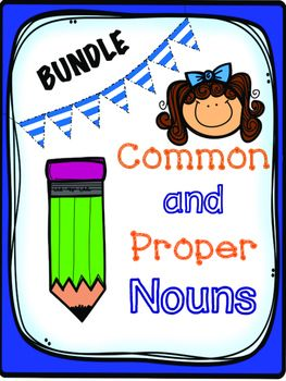 Common and Proper nouns worksheet bundle!  Amazing and perfect!!