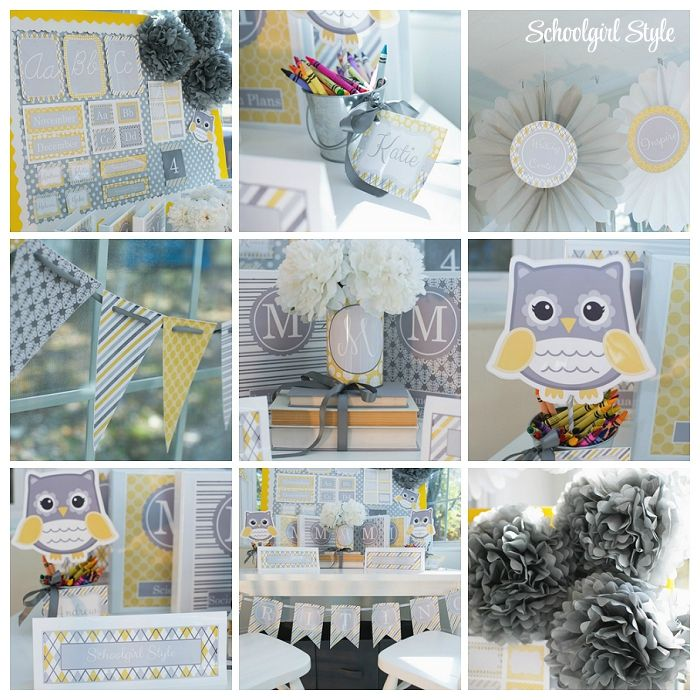 Classroom Decor Gray ~ Images about classroom theme ideas on pinterest