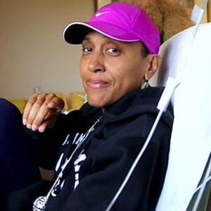 Robin Roberts  with the look of determination to beat the odds!! She has got IT...