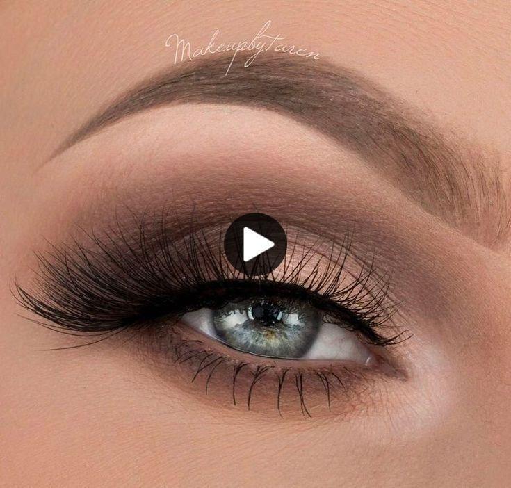 Verwonderlijk Oog make-up tutorial blauwe ogen ideeën bruine ogen groene ogen OE-73