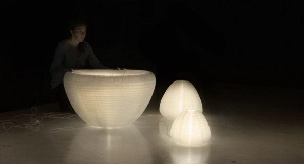 lighting: Urchins Softlight, Urchins Lights, Interiors Design, Events Ideas, Icff Molo, Molo Lamps, Lights Icff, Warm White