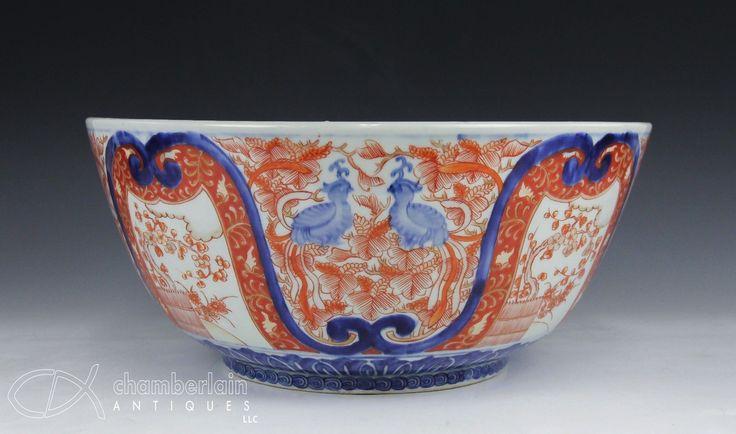 Japanese imari punch bowl  in Antiques, Asian Antiques, Japan