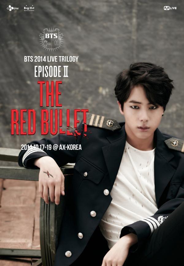 <BTS 2014 LIVE TRILOGY EPISODE Ⅱ: THE RED BULLET> 7th BULLET. Jin #Danger #Jin