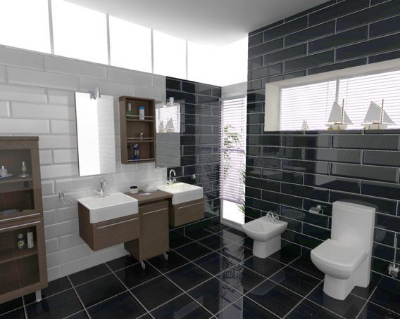 Accessories The Pulchritudinous Ceramic Black Domination With Ceramic White Wall Free Online Bathroom Design Software Tell Me Your Feeling