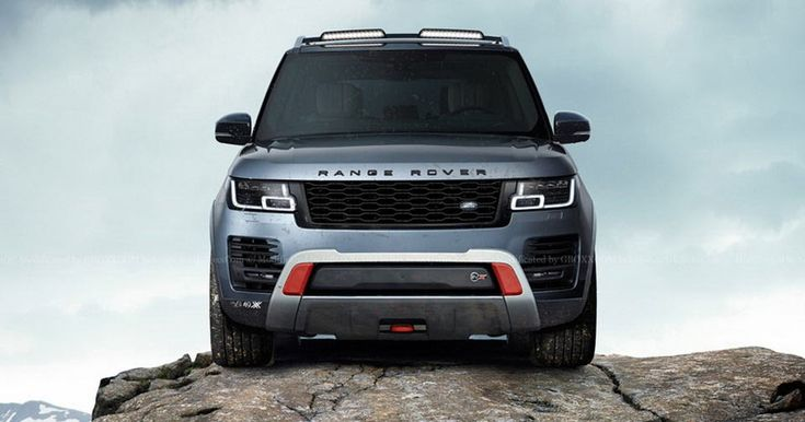 Range Rover SVX Would Make One Heck Of A Luxury Off-Roader #Land_Rover #Range_Rover