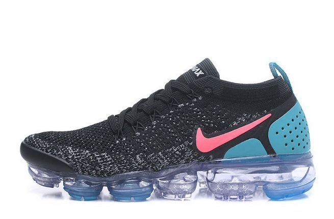 online store cf3f9 ecb1d Nike Air VaporMax Flyknit 2 Black Dusty Cactus Hot Punch ...